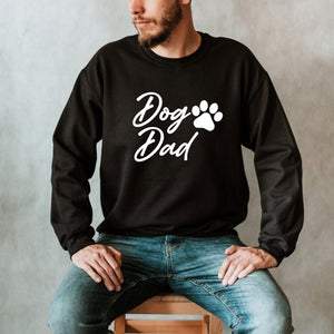 Dog Dad Script Sweatshirt
