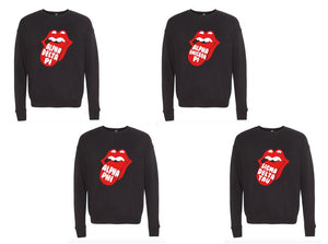 Rolling Stones Inspired Sorority Sweatshirt