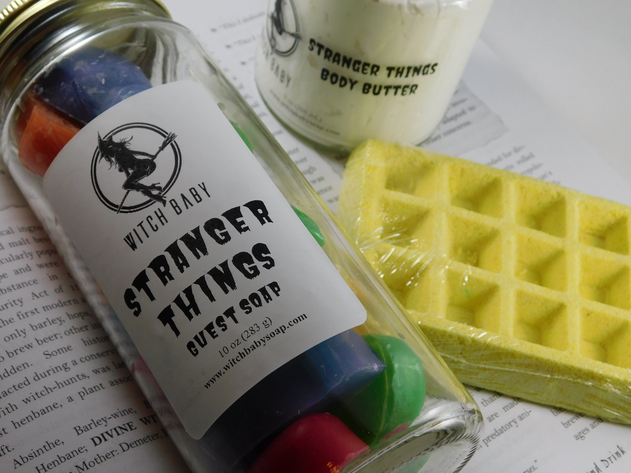 Stranger Baths Gift Set