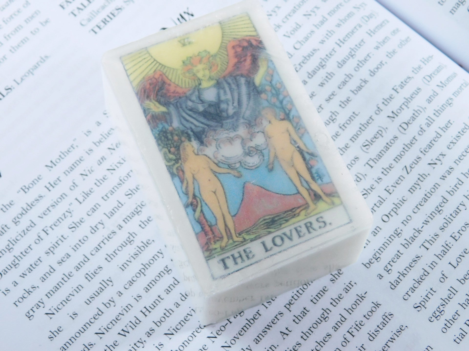 Lovers Tarot Soap