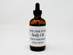 Lovely, Dark and Deep Body Oil
