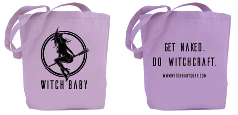 Witch Baby Tote Bag