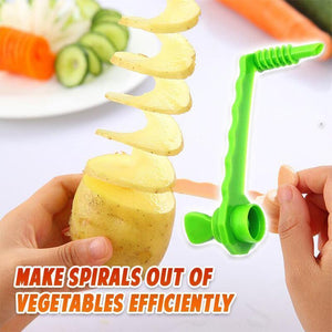 Tornado Potatoes Spiral Slicer