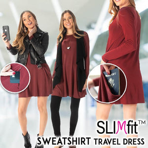 Sweatshirt Travel Dress