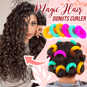Magic Hair Donuts Curler 14pcs