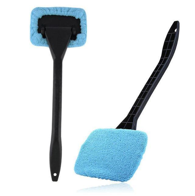 Car Window Pivoting Microfiber Cleaner