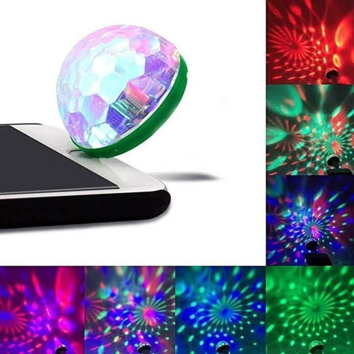 Mini Portable USB Disco Ball