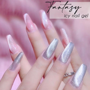 Icy Cat Eyes Magnetic Nail Gel