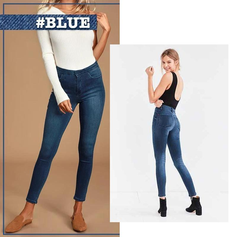 Stretchy Fit Jeans Leggings