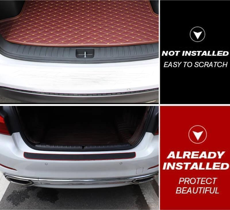 Car Rear Bumper Styling Protector Sticker