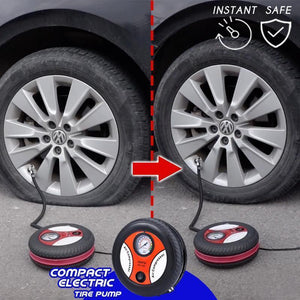 Compact Electric Tire Pump