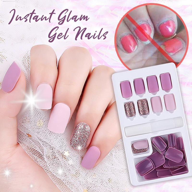 Instant Glam Gel Nails