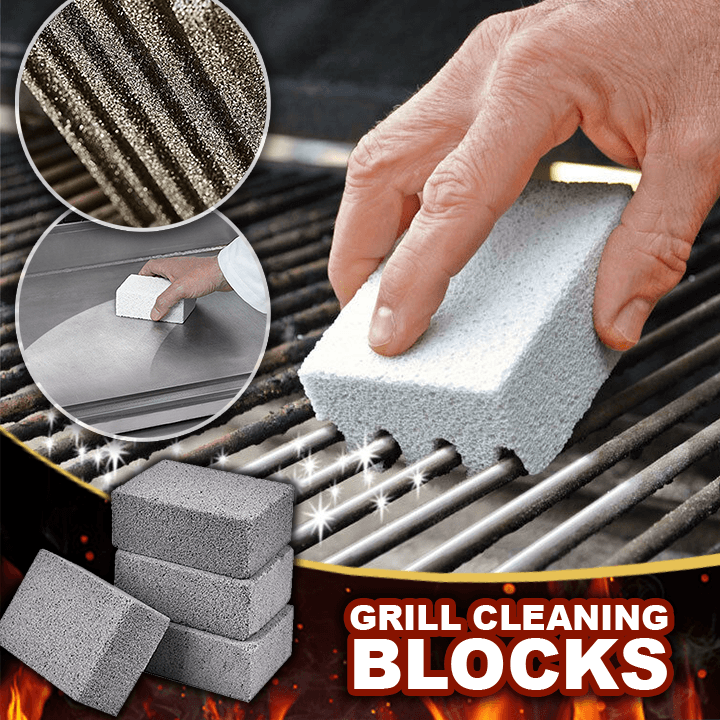 Grill Stone Cleaning Block