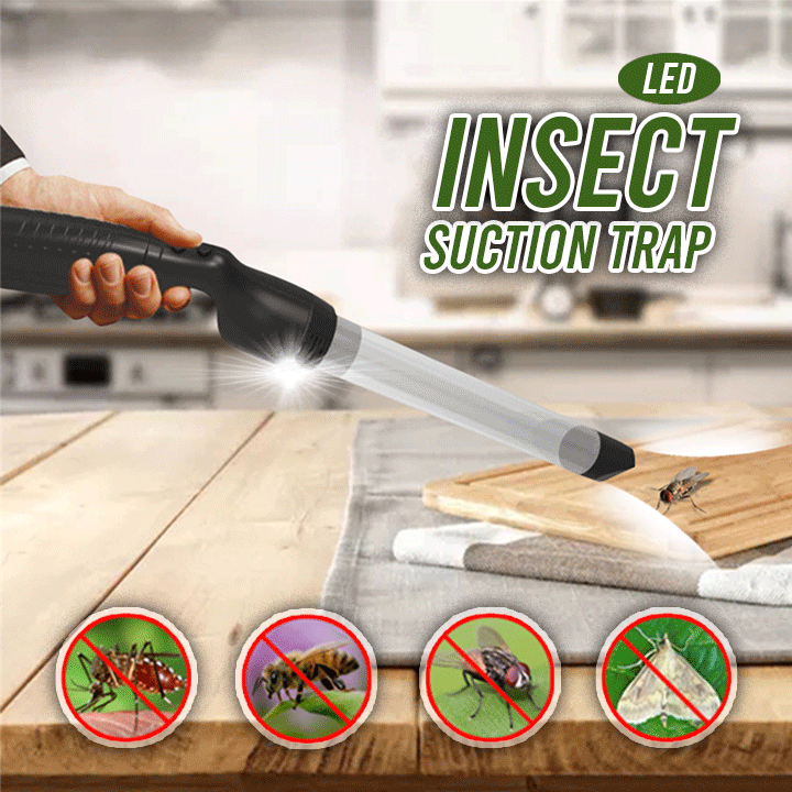 LED Insect Vacuum Catcher