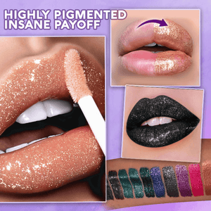 Metallic Glitter Lip Gloss