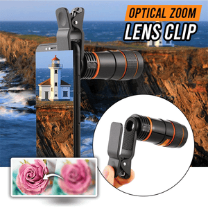 Optical Zoom Phone Lens Clip