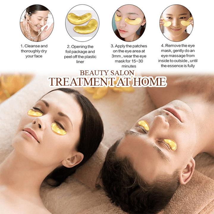 Crystal Collagen Eye Mask (Pack of 2pcs)