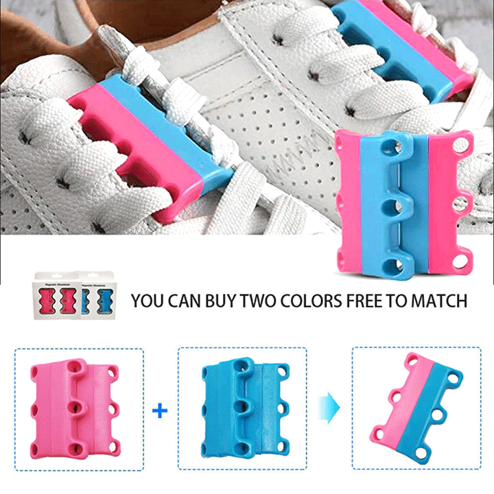 Magnetic Shoelace Buckles