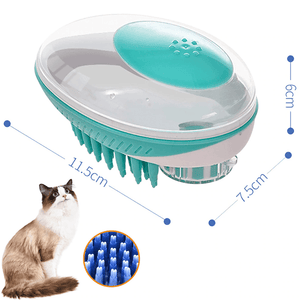 2-in-1 Pet Shower Brush