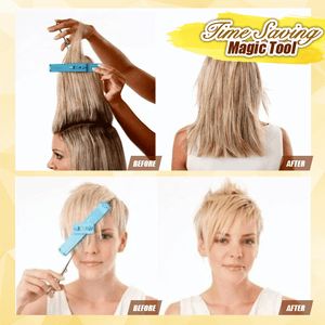 Hair Trimming Assistant Clip