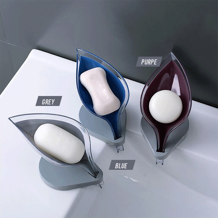 Self-Drain Soap Holder