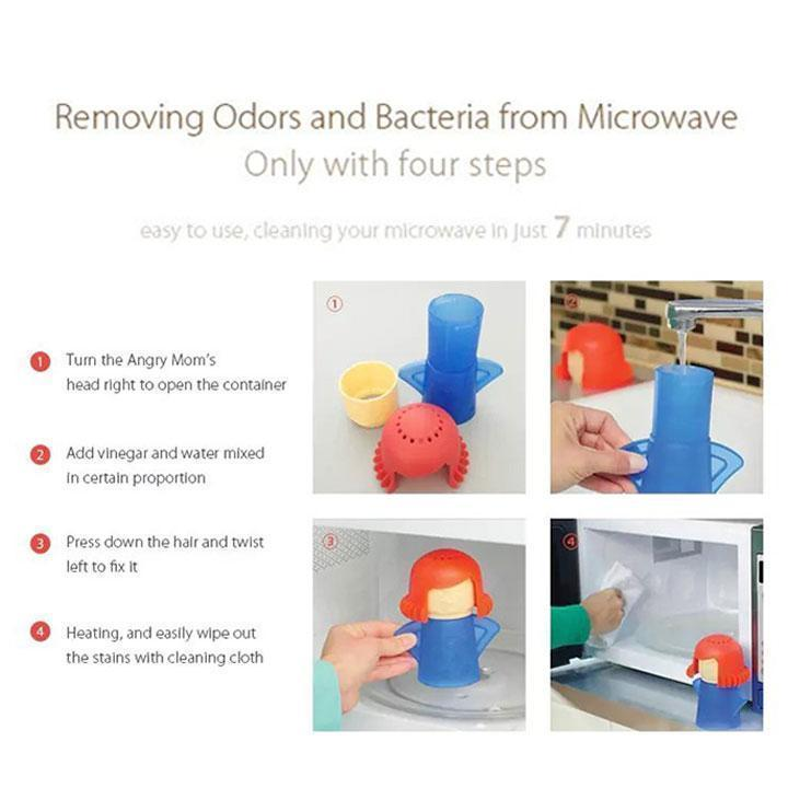 Instant Microwave Cleaner