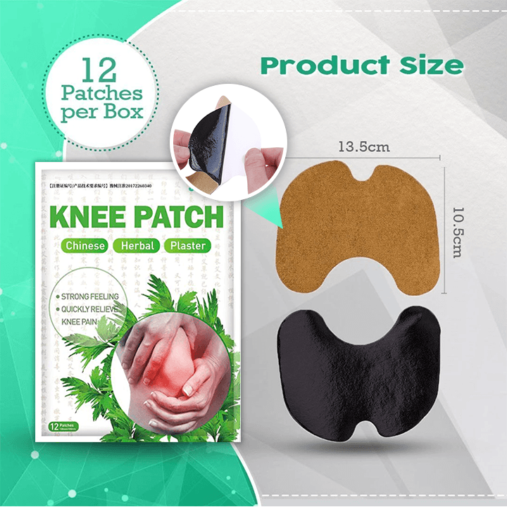 Knee Relief Patch (Pack of 12pcs)