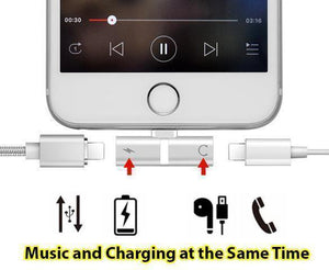 iPhone Lightning Audio and Charge Splitter