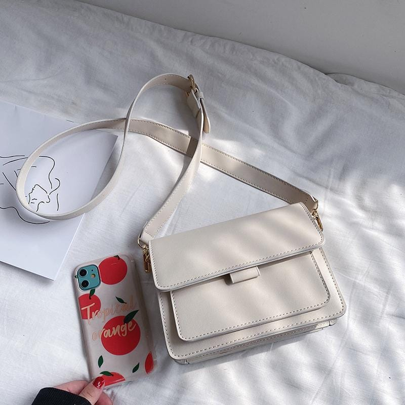 Original Simple Leather Crossbody