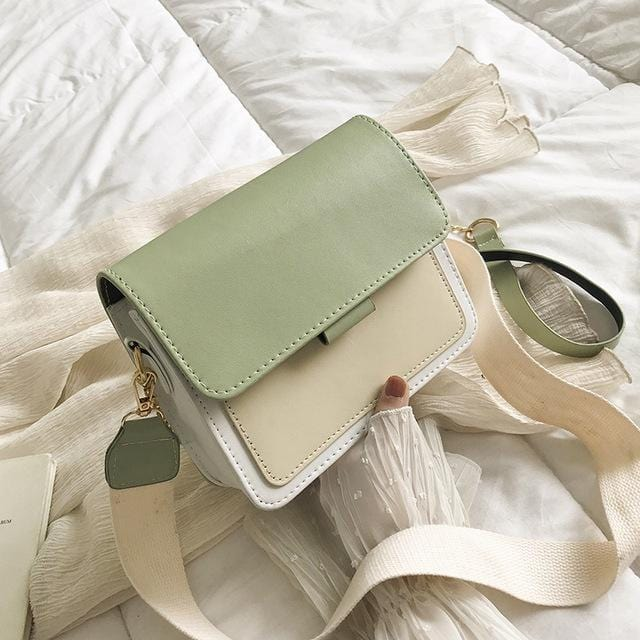 Original Mint Leather Crossbody