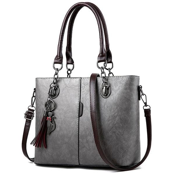Manhattan Leather Tote