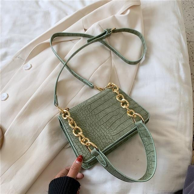 Looti Alligator Leather Crossbody