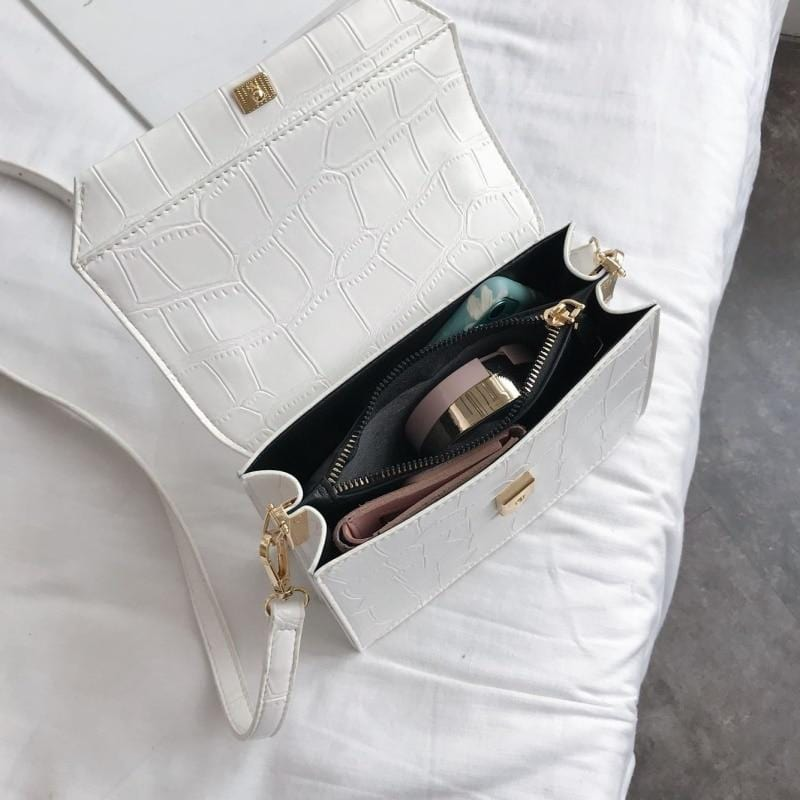 Glow Leather Handbag