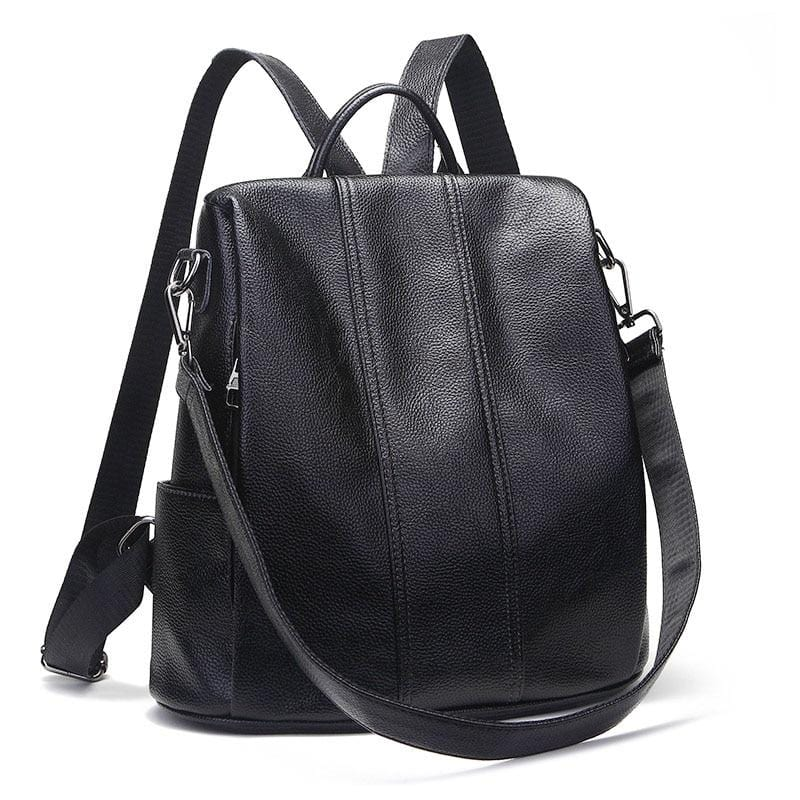 Matey Leather Backpack