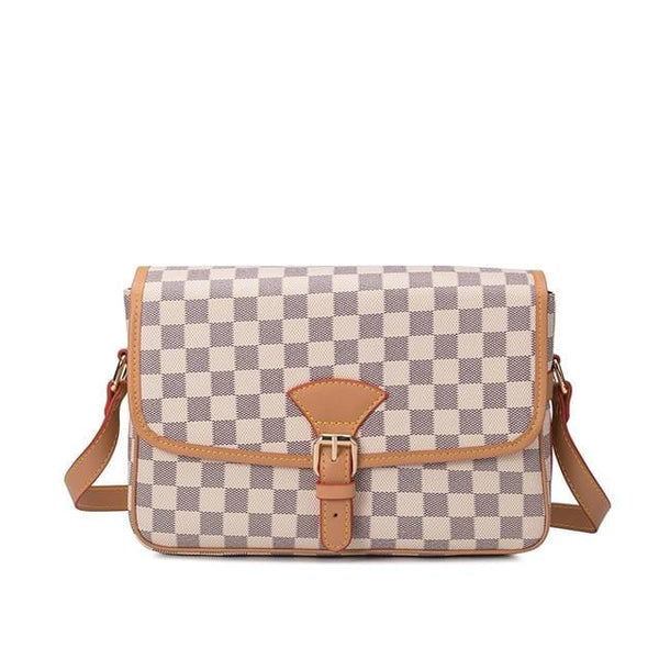 Original Simple Plaid Crossbody