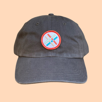 Latticemark Hat - Gray