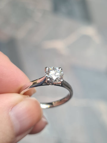 4 prong ring setting