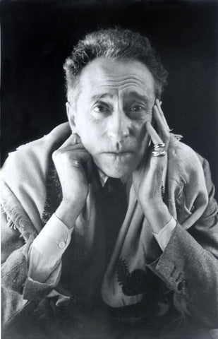 Jean Cocteau, French Poet, wearing the Trinity Ring