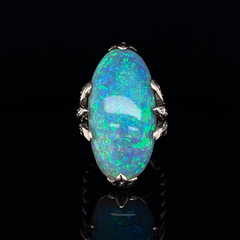 Pierre Sterle Opal Cocktail Ring