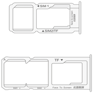 [OEM PACKAGE] Replacement SIM Card Tray