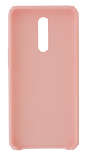 Load image into Gallery viewer, OPPO Reno Z Liquid Silicon Rubber Protective Case - Blue & Pink