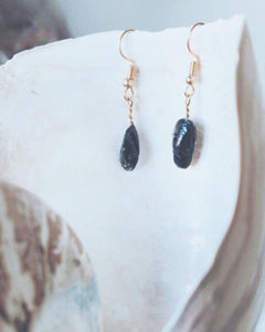 Mussel Dropper Earrings
