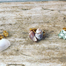 Load image into Gallery viewer, Teeny Tiny Natural Shell Earrings