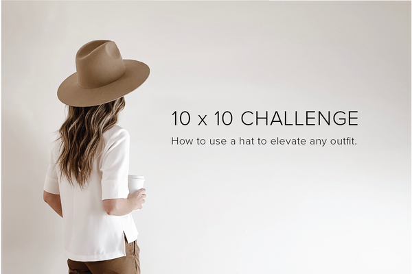 10x10 Challenge : 10 pieces of clothing, 10 days, endless possibilities