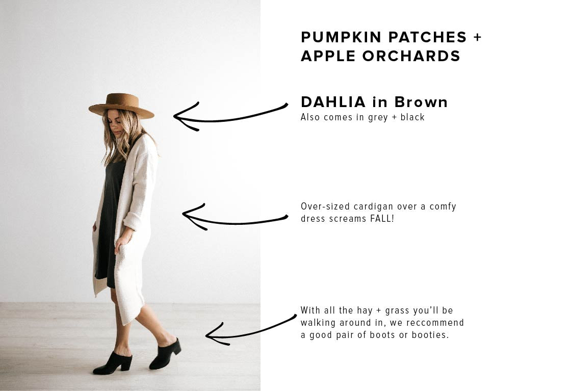 A Guide to Wearing Fall Hats