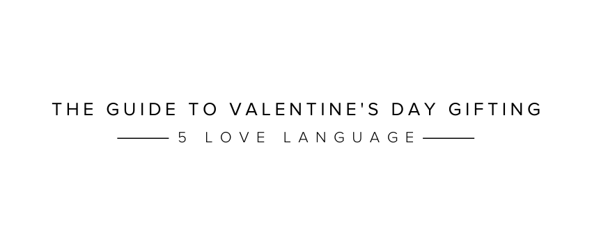 Gigi Pip's guide to love languages