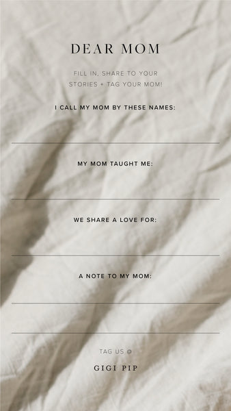 Mother's Day Instagram Story Templates