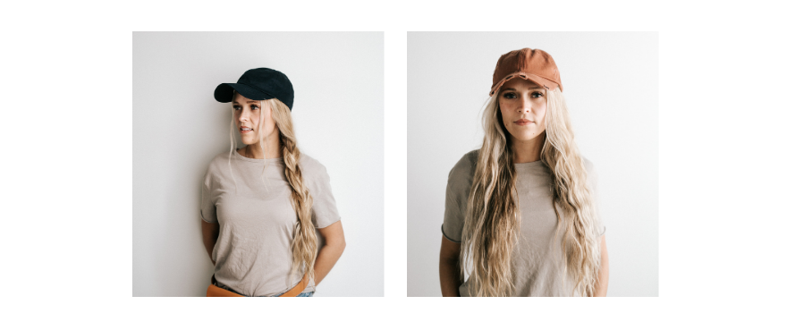 how to wear a hat with long hair