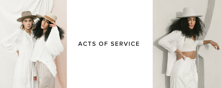 Acts of service with Gigi Pip