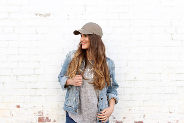 3 Different Ways to Style Baseball Caps For Women by womens hats shop Gigi Pip